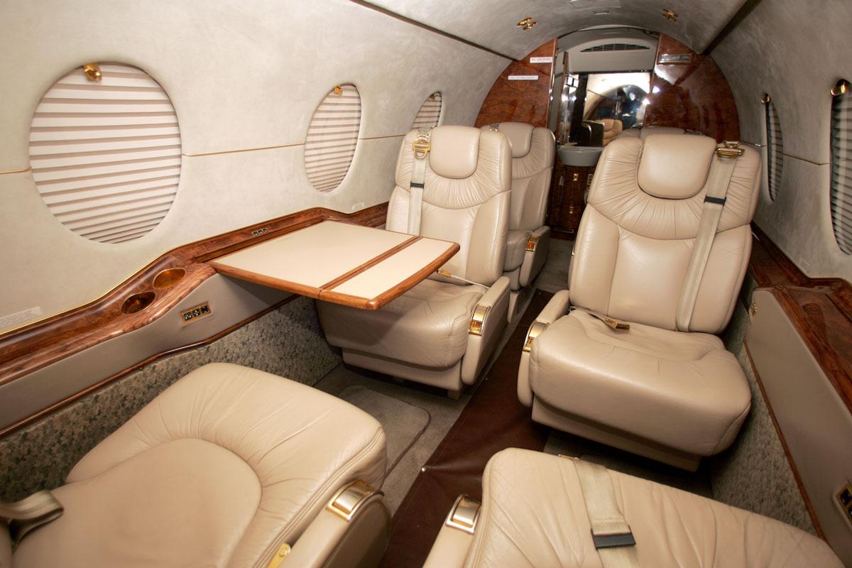 Beechjet 400 Interior