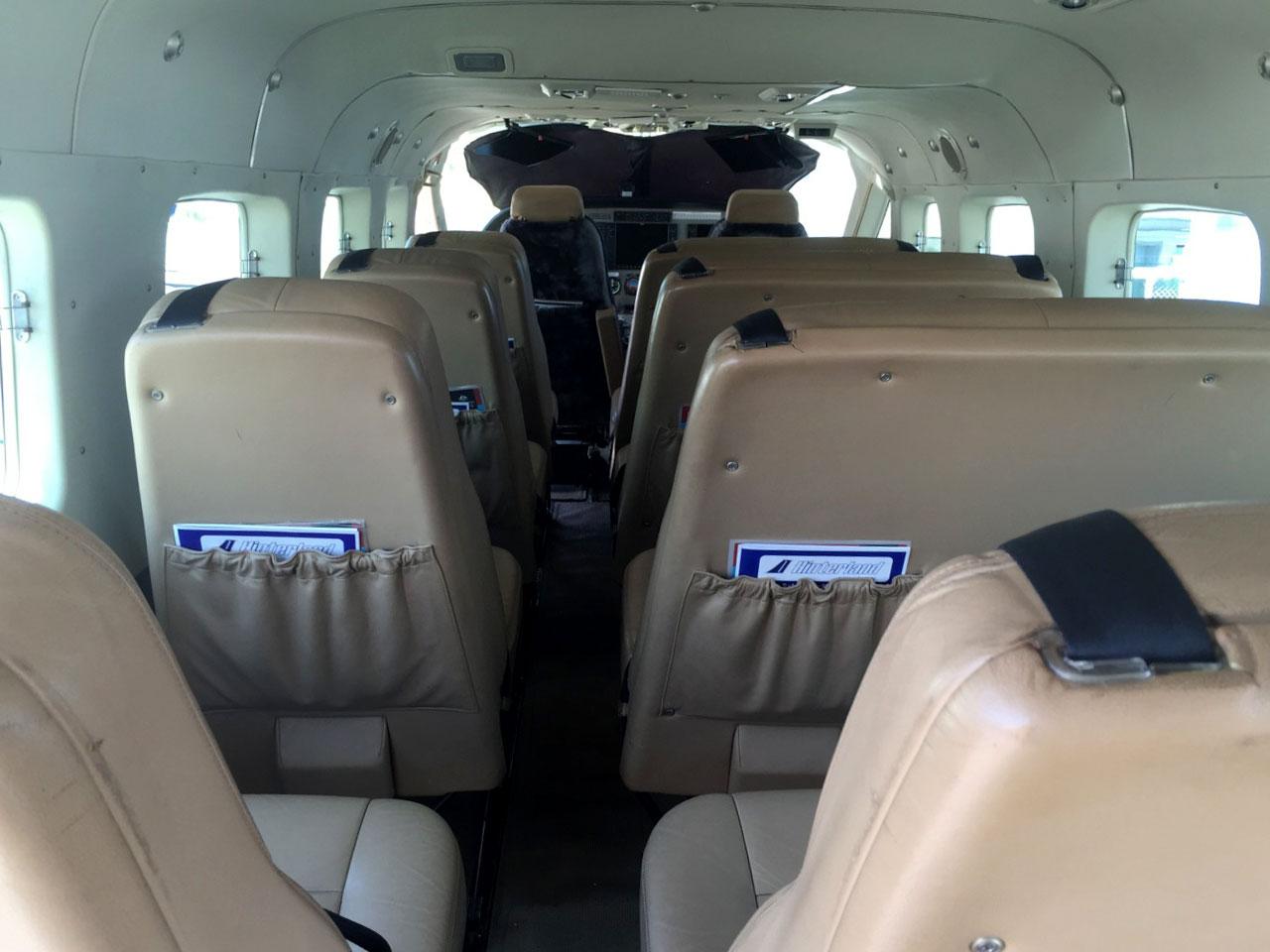 Cessna C208B Grand Caravan Interior