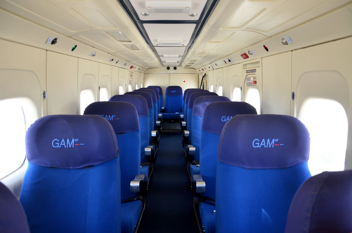 Fairchild Dornier 228 Interior